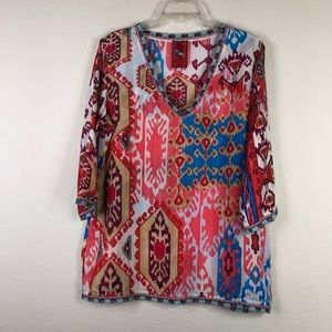 Johnny Was Blouse Size Small